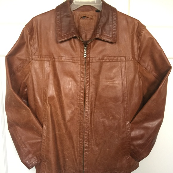 b8fa7e263 Roundtree & Yorke Leather Jacket - Men's Large